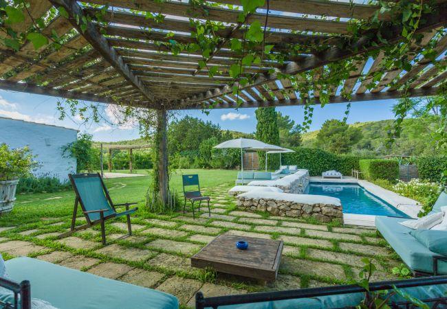 Villa en Sant Llorenç de Balafia - VILLA DUENDE, CASA 10 PAX