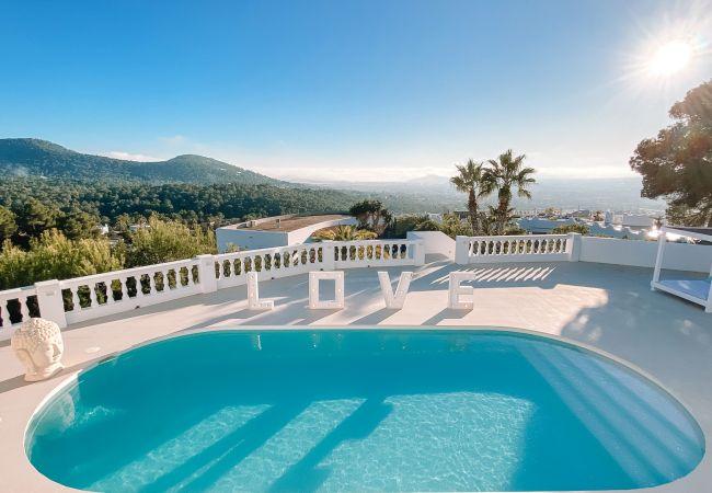 Villa en Ibiza - VILLA LUNA BLANCA