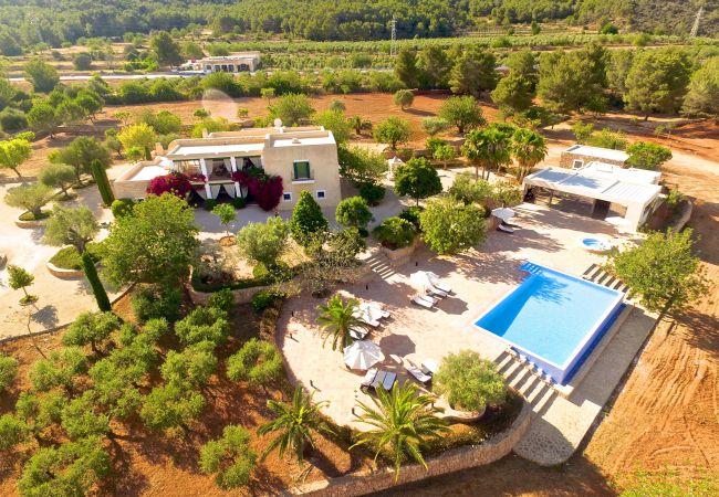 Villa en Santa Eulalia del Río - VILLA FINCA MAYOR 12 PAX