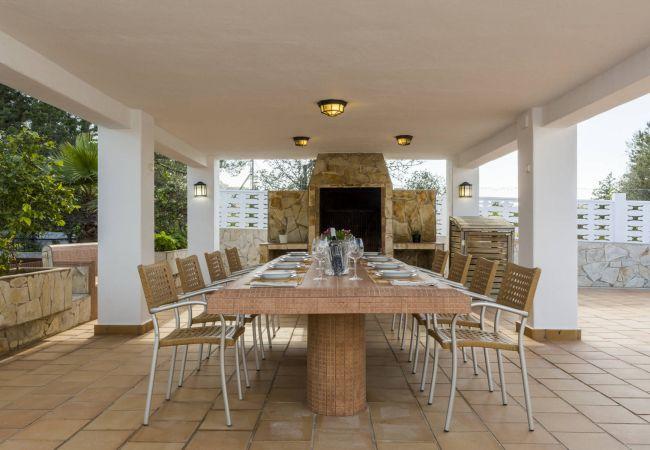 Villa in San Rafael de Sa Creu/ Sant Rafael de Sa Creu - ROSITA 6 pax